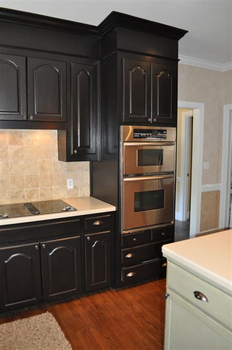 wonderful how to repaint kitchen cabinets the collected interior black painted kitchen cabinets