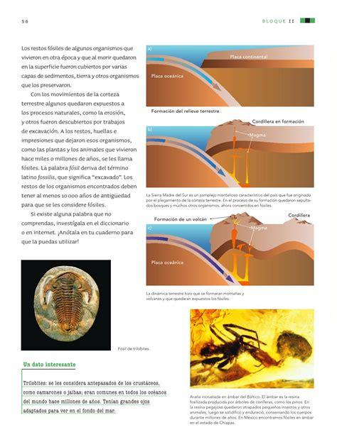 Qu establece charles lyell en su libro principios de geologa? Ciencias Naturales Sexto grado 2016-2017 - Online | Libros de Texto Online | Página 56