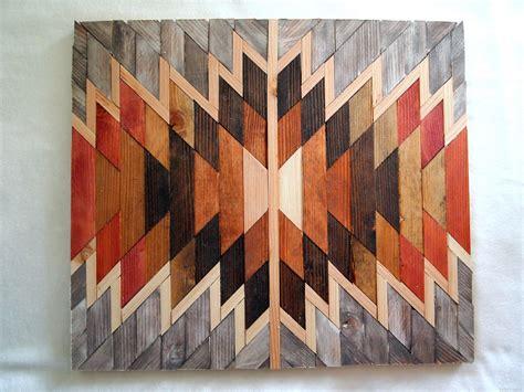 diy native american wooden kilim wall art reality daydream