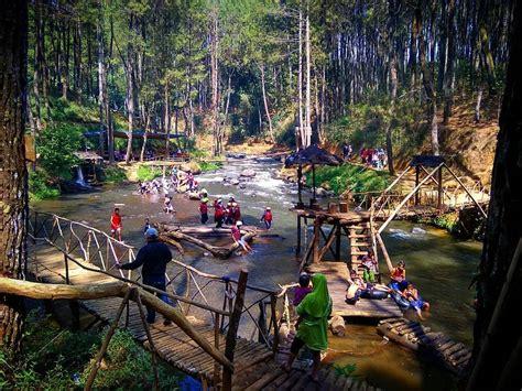 kampung singkur pangalengan destinasi wisata keluarga