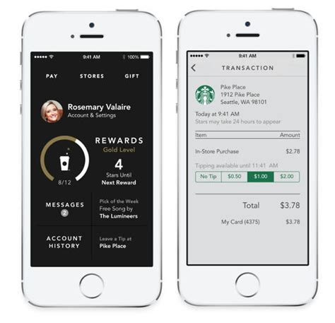 starbucks app android starbucks could expand its mobile app to non starbucks stores