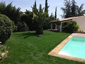Gazon En Plaque : r alisation d 39 un am nagement de jardin avec gazon en ~ Premium-room.com Idées de Décoration