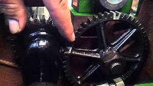 John Deere 1 1  2 Hp Timing By The Gears Hit Miss Engine
