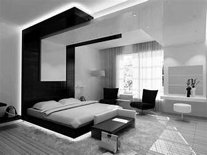 27, Fabulous, Black, And, White, Bedroom, Design, Ideas, For, Your, Minimalist, Home