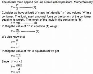what is pressure in science?|definition,formula,unit,types ...