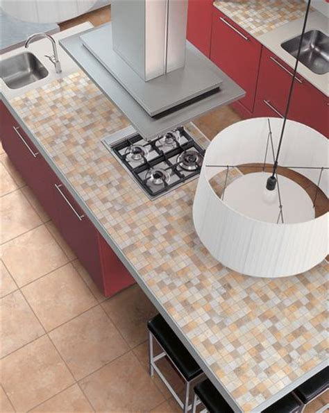 mosaic tile kitchen countertop tile counter ideas for kitchens and baths 7866