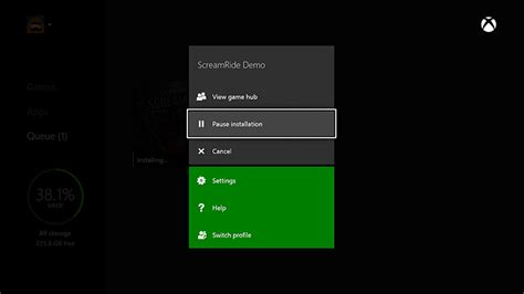 Xbox 360 Resume Cancelled by Pause Or Cancel An Xbox One Installation Cancel Xbox One Installation