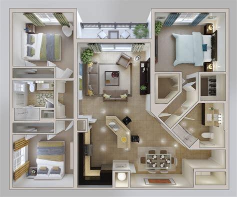 three bedroom houses small 3 bedroom house plan interior design ideas