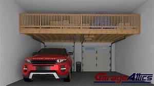 Garage Storage Ideas Custom Overhead Storage Lofts