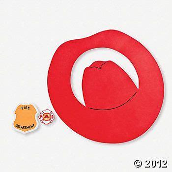 fireman hats craft kit oriental trading carnaval