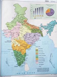 Map Of India Railway Zones Maps Of The World