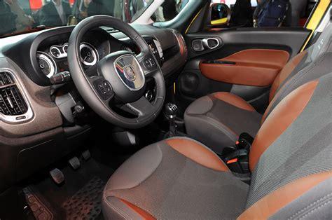 Fiat 500l Interior by 2014 Fiat 500l Interior Redesign