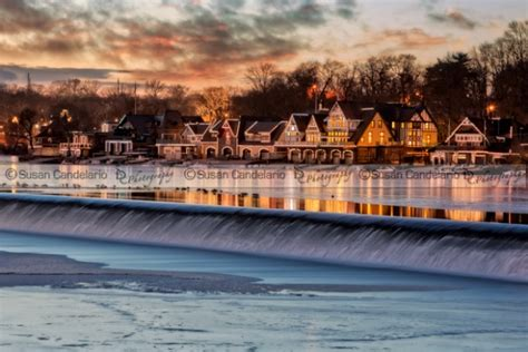 Boathouse Row by Visit Philly Boathouse Row Susan Candelario Sdc