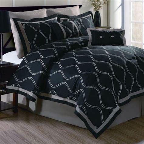 fingerhut bedding sets brielle black 8 comforter set 200 00 my bedroom