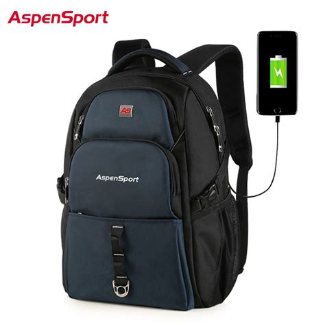 aspensport backpacks for with usb charging anti