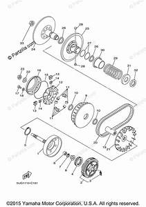 Yamaha Side By Side 2006 Oem Parts Diagram For Clutch