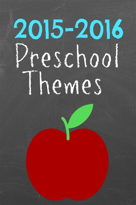 theme for preschool 2015 preschool themes more excellent me 198