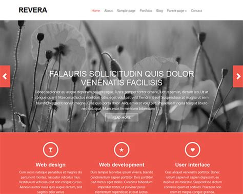 revera  wordpress bootstrap theme themeshakercom