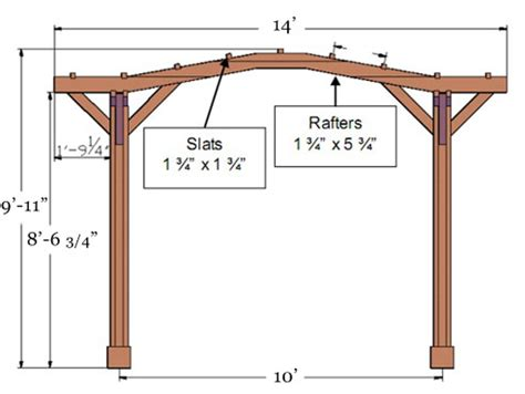 height of pergola top 28 standard pergola height fan pergola kits built to last decades forever redwood