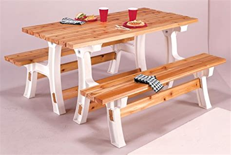 Picnic Table Bench Kit by Folding Picnic Table Bench Kit Patio Outdoor Convertible