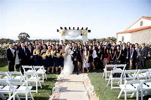 outdoor wedding ceremony with ocean views in the lush With wedding ceremony in los angeles