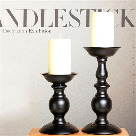 candle holders cheap buy black pillar candle holders from