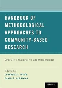 Handbook Of Methodological Approaches To Community