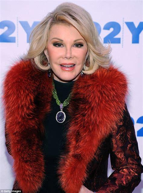 joan rivers evades fashion police  garish red jacket