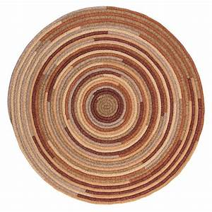Home, Decorators, Collection, Riley, Rustic, Blend, 8, Ft, X, 8, Ft, Braided, Round, Area, Rug
