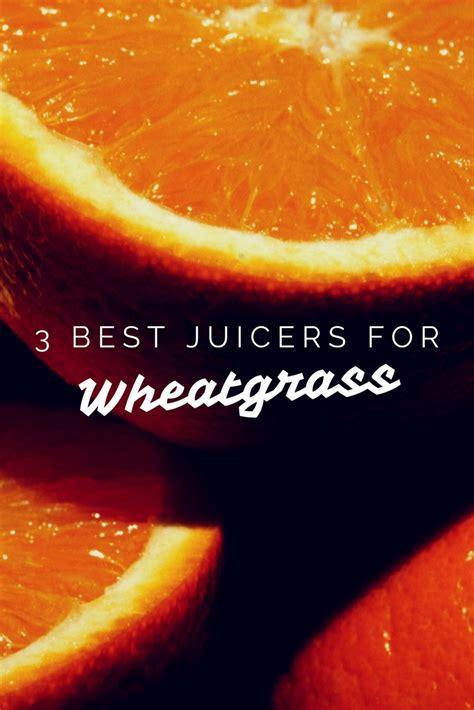 juicer wheatgrass
