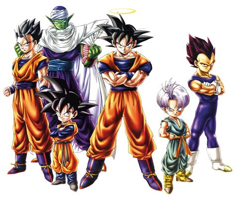 Maybe you would like to learn more about one of these? Gohan, Piccolo, Goten, Goku, Trunks, and Vegeta   Dragon ball z wallpaper, Anime dragon ball ...