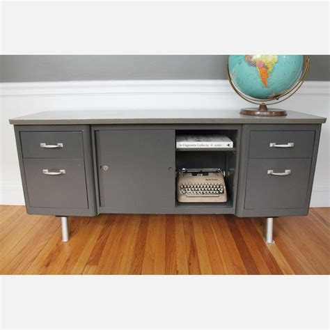Steelcase Credenza - hee hee mid century credenza metal i saw awkwardly at