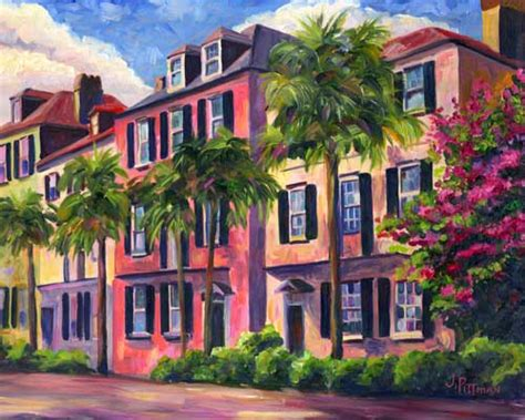 Rainbow Row  Prints Of Charleston And Art
