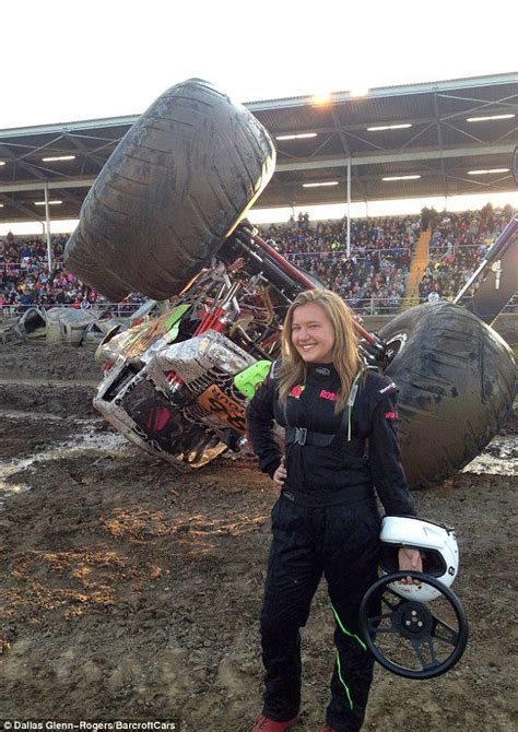 monster truck show california rosalee ramer is america s youngest female pro monster