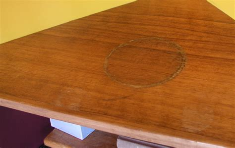 remove water ring marks  wooden table