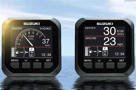 Boat Gauges Nz by New Digital From Suzuki The Fishing Website