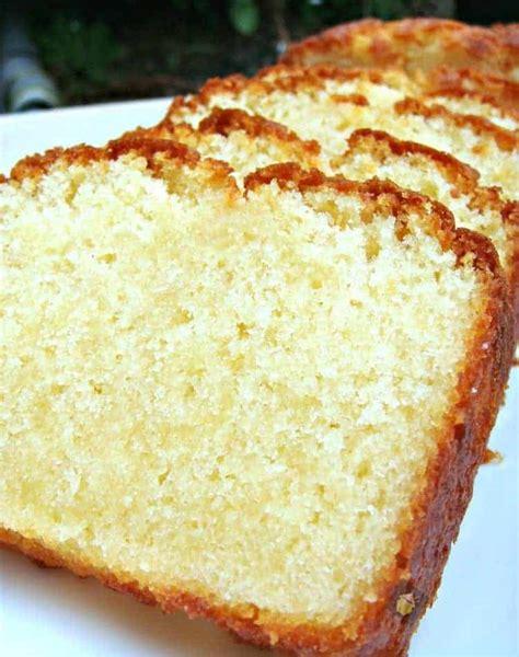 moist vanilla pound cake easy recipe  absolutely