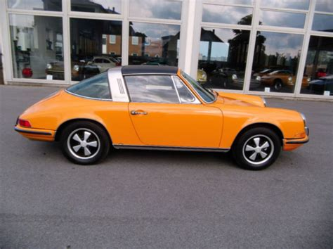 porsche 911 orange awesomely original porsche 911 t targa for sale ferdinand