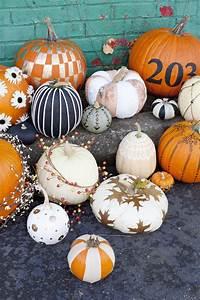 Easy, No-carve, Pumpkin, Ideas