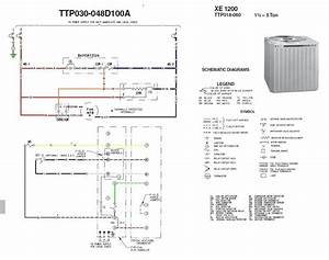 Trane Package Unit Wiring Diagram Sample