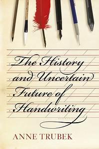 Is Handwriting History Public Books