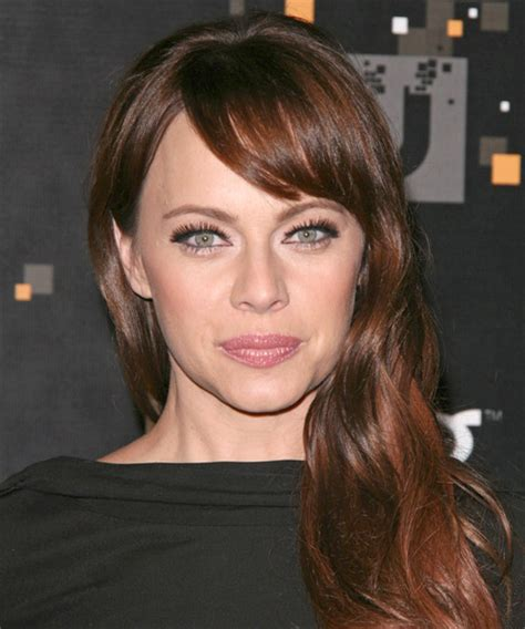 melinda clarke casual long straight hairstyle  side