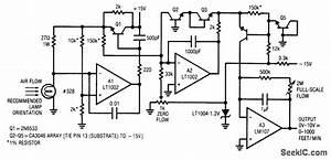 Thermal Anemometerair Flowmeter