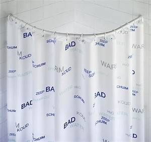 Barre De Douche Arrondie : wenko 19220100 barre de douche arrondie 80 x 80 90 x 90 ~ Premium-room.com Idées de Décoration