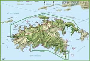 St. John Virgin Islands Map