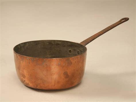 antique french copper pots  pans  sale  stdibs