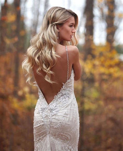 Beautiful 50 Unique And Hot Backless Wedding Dresses 2017