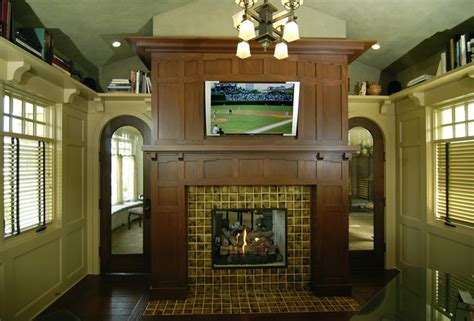 library craftsman home office grand rapids by
