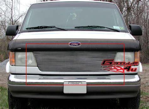 For 92-06 Ford Econoline Van Billet Grille Insert