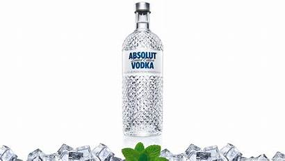 Vodka Absolut Absolute Drink Bottle Water Alcohol